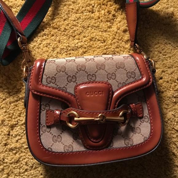 2b9c3ca8e93 Gucci Handbags - Gucci saddle bag lady web small